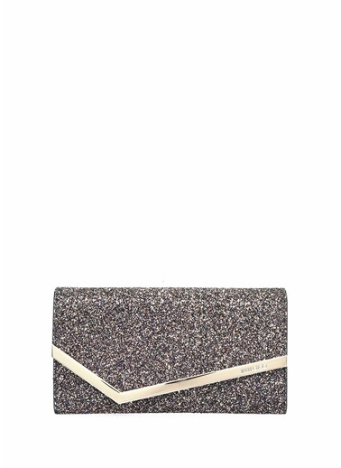 Jimmy Choo Clutch / El Çantası Füme